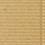 Corrugated cardboard goffer paper texture, bright rough old recycled goffered crimped textured blank empty grunge copy space. Background, large aged detailed Stock Images