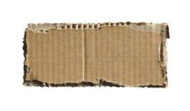 Corrugated cardboard Royalty Free Stock Photos