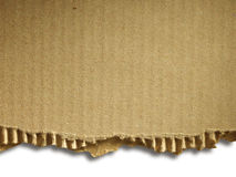 Corrugated cardboard Royalty Free Stock Photo