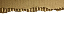 Corrugated cardboard Royalty Free Stock Photos