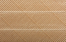 Corrugated cardboard package background texture Royalty Free Stock Image