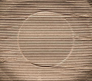 Corrugated cardboard paper, abstract  texture background Stock Images