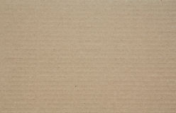 Corrugated cardboard paper Royalty Free Stock Photography
