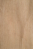 Corrugated cardboard sheet Royalty Free Stock Images