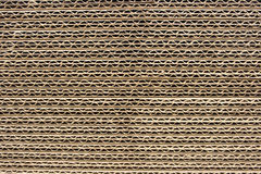 Corrugated Cardboard Sheets. Stacked sheets of corrugated cardboard stock image
