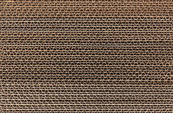 Corrugated Cardboard Stacked Royalty Free Stock Photos