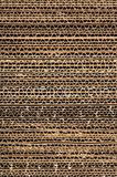 Corrugated cardboard texture Royalty Free Stock Photos