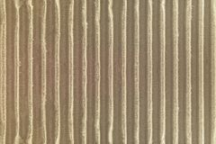 Corrugated  cardboard texture background. Detail of craft paper made from natural material. Texture stock photo