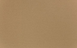 Corrugated Cardboard Texture Royalty Free Stock Photo