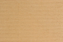 Corrugated Cardboard Texture Royalty Free Stock Image