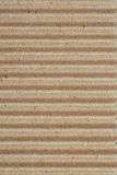 Corrugated cardboard texture, striped horizontally paper Royalty Free Stock Photography