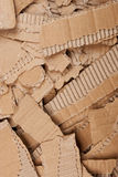 Corrugated cardboard torn pile Royalty Free Stock Photography