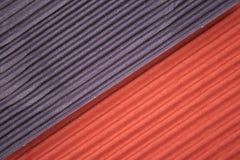 Corrugated cardboards Stock Photo