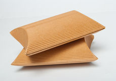 Corrugated carton boxes Stock Images
