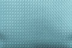 Corrugated checkered texture of blue color Royalty Free Stock Images