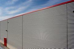 Corrugated facade Royalty Free Stock Photos