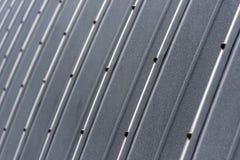 Corrugated facade Stock Image