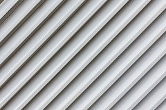Corrugated facade Royalty Free Stock Images