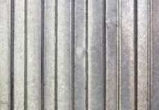 Corrugated galvanized metal  background Royalty Free Stock Image