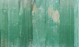 Corrugated Galvanized steel green color iron metal sheet with ru stock images