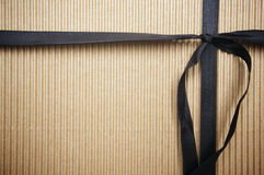 Corrugated Gift Box Royalty Free Stock Images
