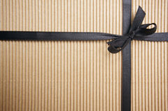 Corrugated Gift Box Stock Image