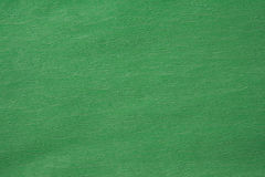 Corrugated green paper texture Royalty Free Stock Image