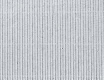 Corrugated grey cardboard as background Royalty Free Stock Photos