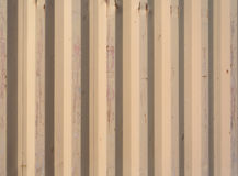 Corrugated heavy duty shipping container side Royalty Free Stock Photos