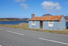 Corrugated hut. Stock Photography