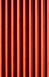 Corrugated iron. Texture royalty free stock photo