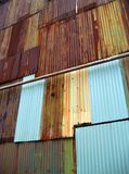 Corrugated Iron Stock Photography