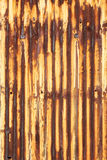 Corrugated iron Royalty Free Stock Photos