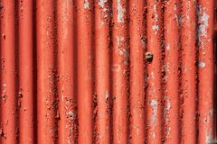 Corrugated iron Royalty Free Stock Photography
