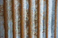 Corrugated iron background Stock Images