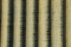 Corrugated iron background. Corrugated iron with formations as a background royalty free stock photography
