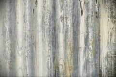 Corrugated Iron Background. View of Weathered Corrugated Iron Royalty Free Stock Photo