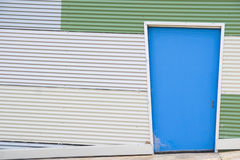Corrugated iron building Stock Photo
