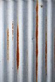 Corrugated Iron Metal Background Royalty Free Stock Photo