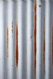 Corrugated Iron Metal Background Royalty Free Stock Photo