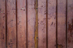 Corrugated iron metal Stock Photo