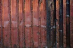 Corrugated iron metal Stock Image