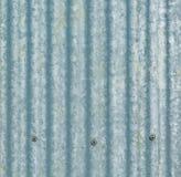 corrugated iron metal texture Stock Image