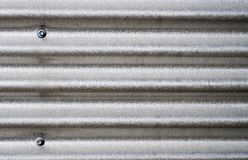 Corrugated Iron Plate Royalty Free Stock Image
