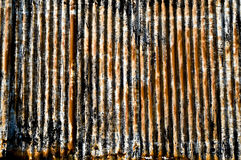 Corrugated iron Royalty Free Stock Image