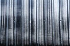 Corrugated iron sheet background Stock Images