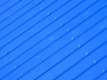 Corrugated iron sheet Royalty Free Stock Photography