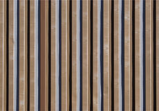 Corrugated iron texture. Texture of corrugated iron with brown color Royalty Free Stock Photos