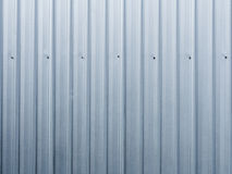 Corrugated iron. This is the corrugated iron wall of factory . Use for background Stock Images