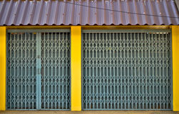 Corrugated Metal Stock Image